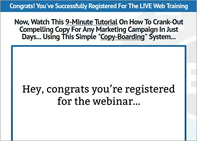 Sell something related to webinar for how to create a webinar