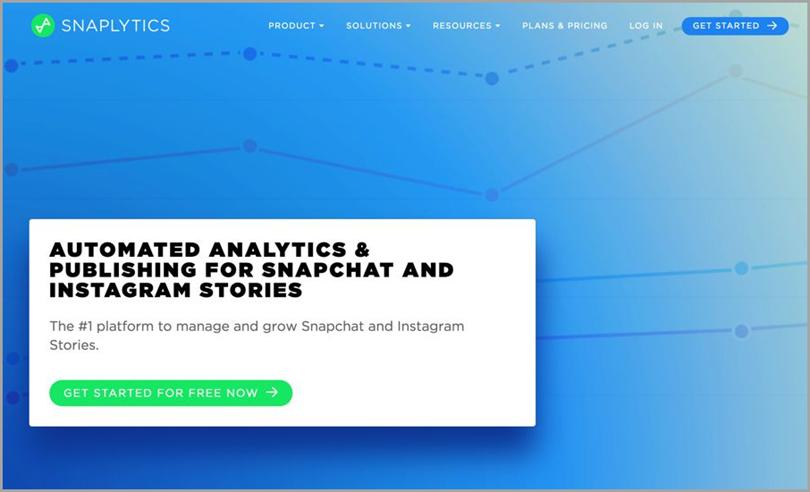 Snaplytics for social media analytics tools