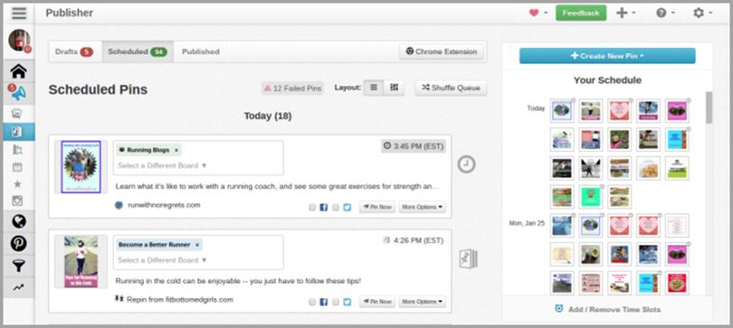 Tailwind for social media analytics tools