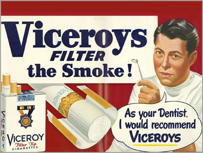 Viceroy filter the smoke for advertising regulation