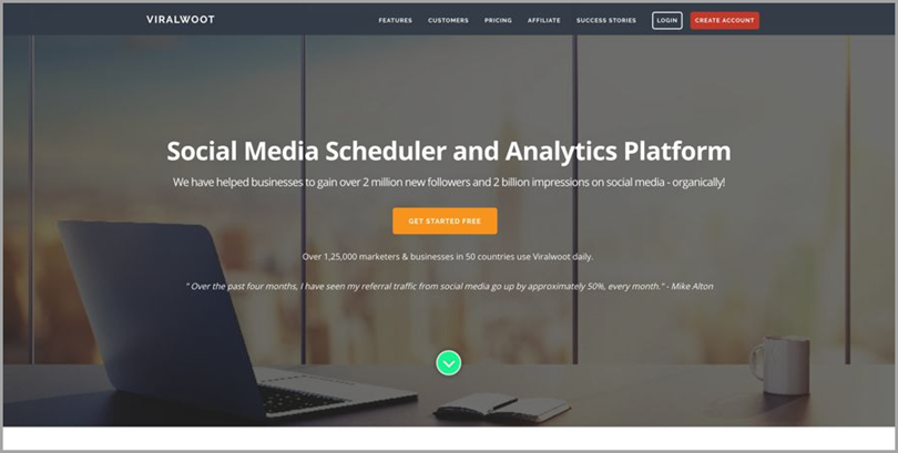 Viral Woot for Social Media Scheduler and Analytics Platform for social media analytics tools