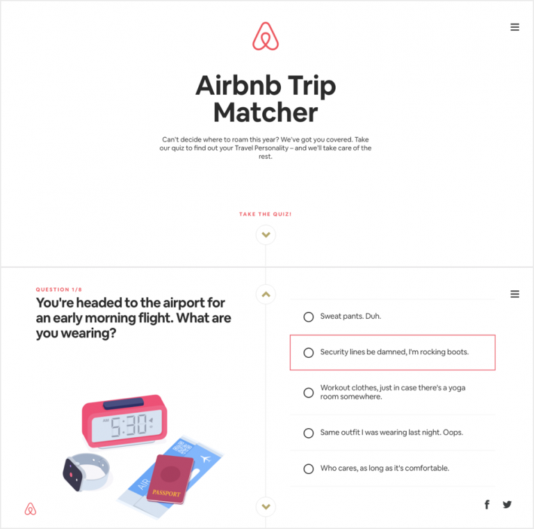 Marketing Personalization - Arbnb