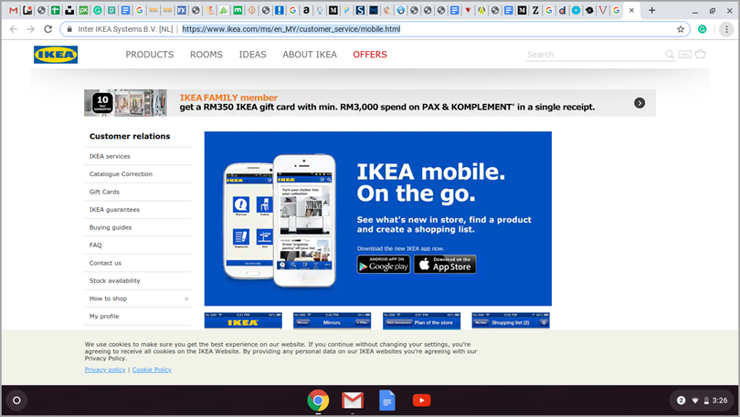 Create mobile apps IKEA mobile on the go for digital marketing tactics