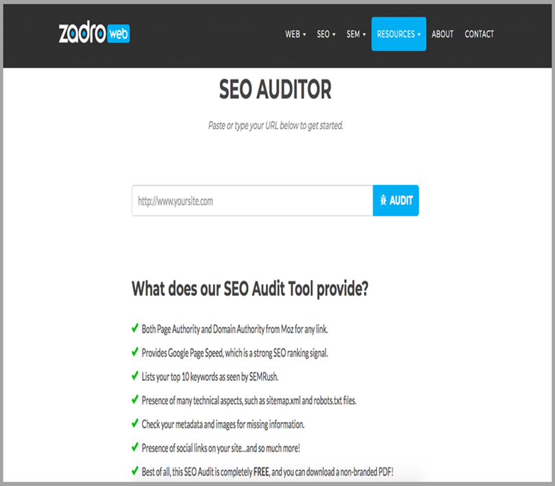 SEO Audit for business audits