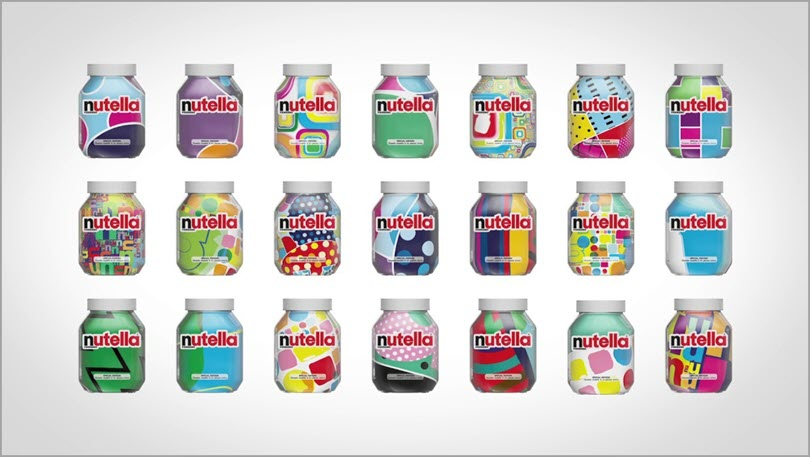 Nutella Unica Designs for AI and design