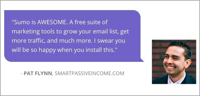 Sumo for website conversion rate
