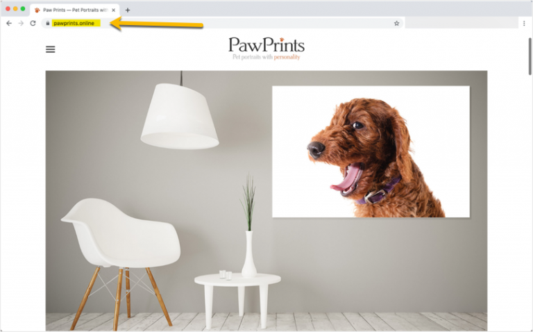 PawPrints Online Domain Name