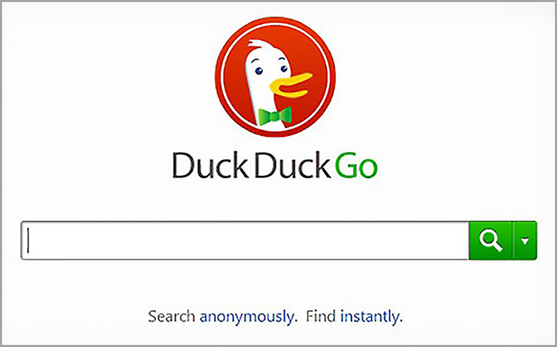DuckDuckGo Search Engine for big data and privacy