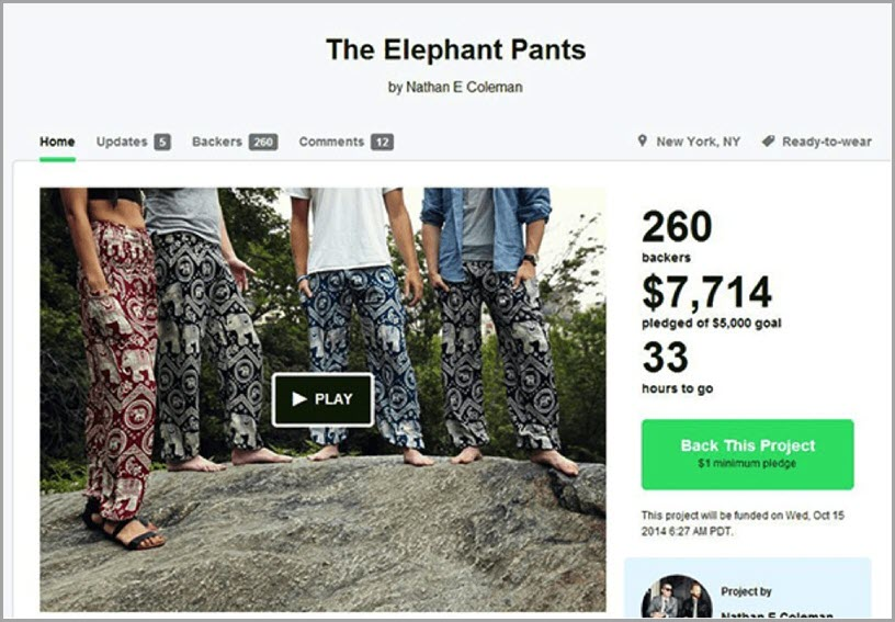 Elephant Pants raise refund for personalized quizzes
