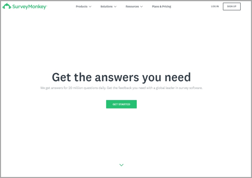 SurveyMonkey for blog ideas