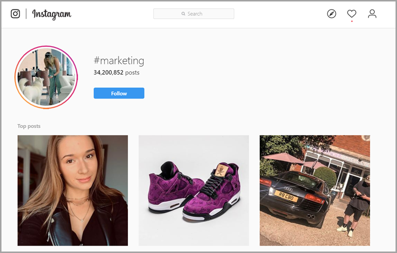 Hashtag Categories in Instagram for hashtag strategy