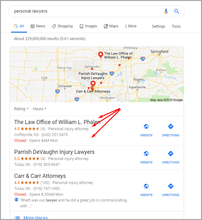 Optimize your Google My Business Page for NAP consistency