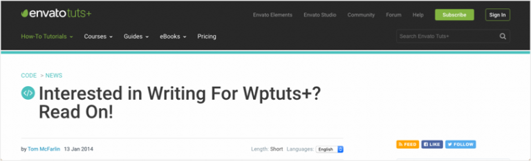 Sites that pay - Tuts WP