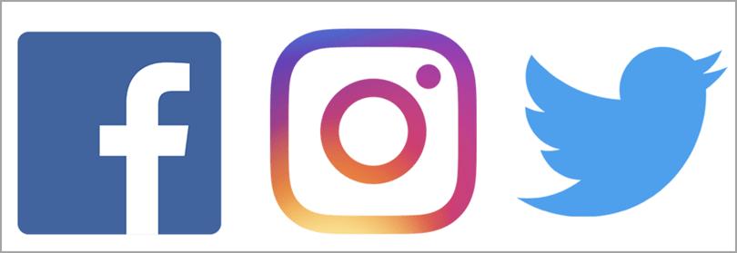 Capitalize on Major Social Media Platforms for brand identity