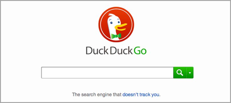 Navegador Duck Duck Go Seach Engine para la optimización de Google