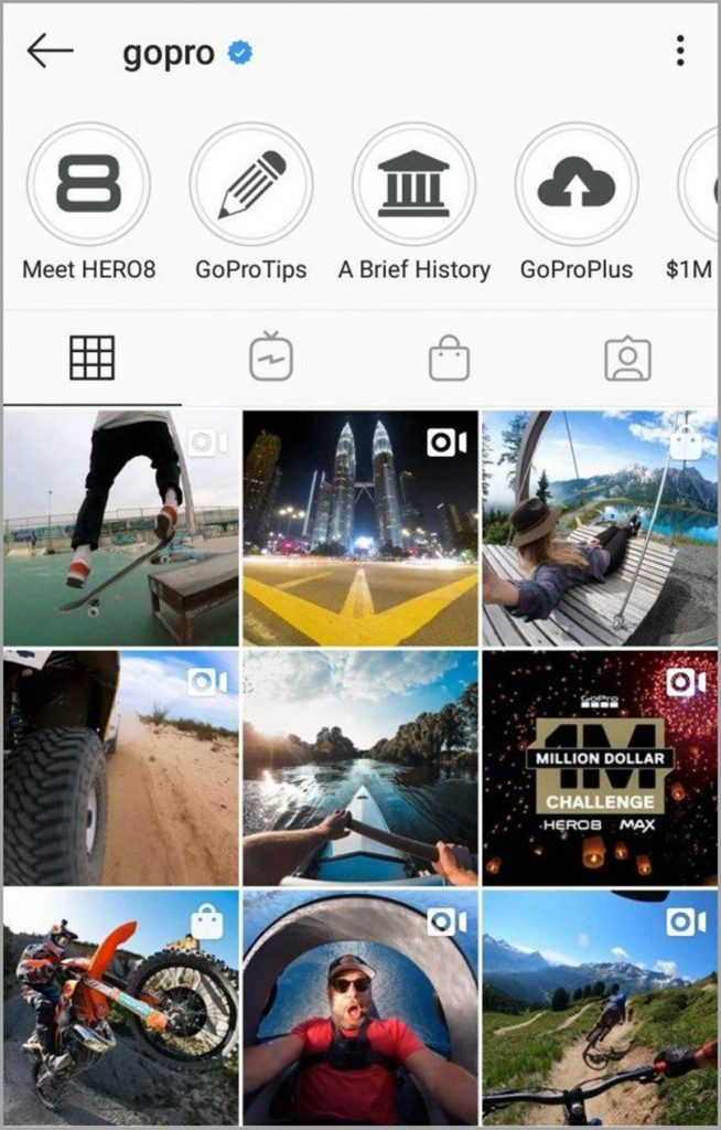 GoPro for visual content marketing