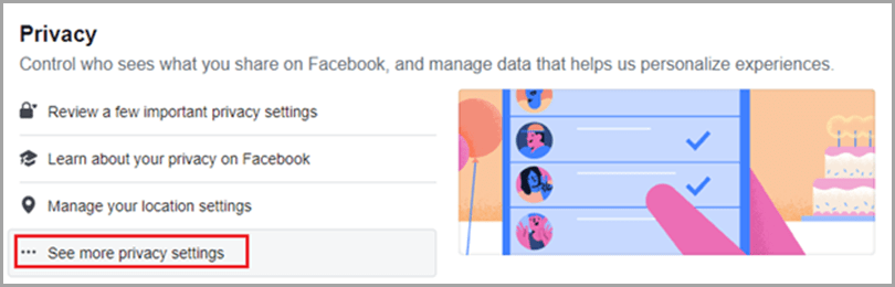Got to Privacy and Pricavy Settings to Block troll on Facebook social media trolls