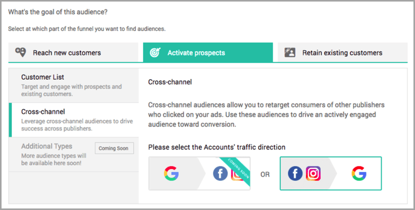 Kenshoo AI to target your Ads for b2b content personalization