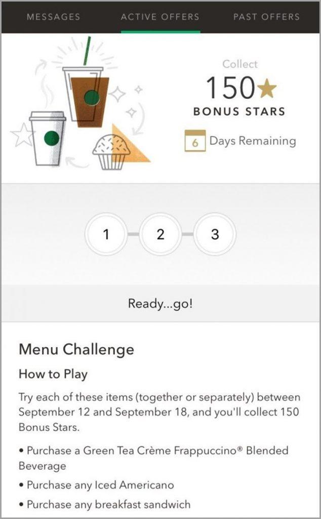Starbucks Rewards App for customer loyalty gamification