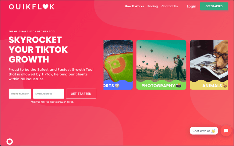 TikTok Tools - QuikFlok