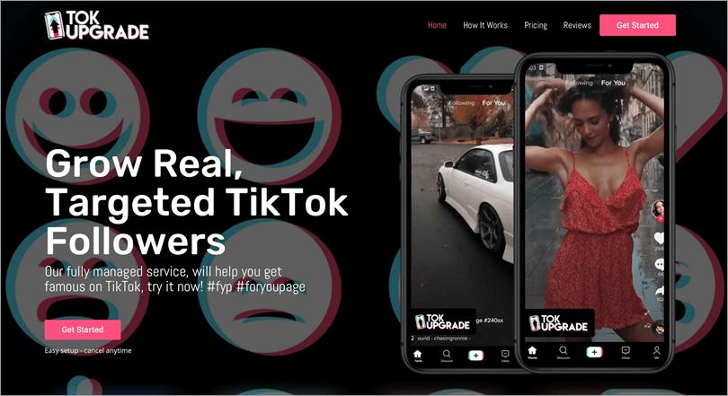 TokUpgrade for tiktok tools