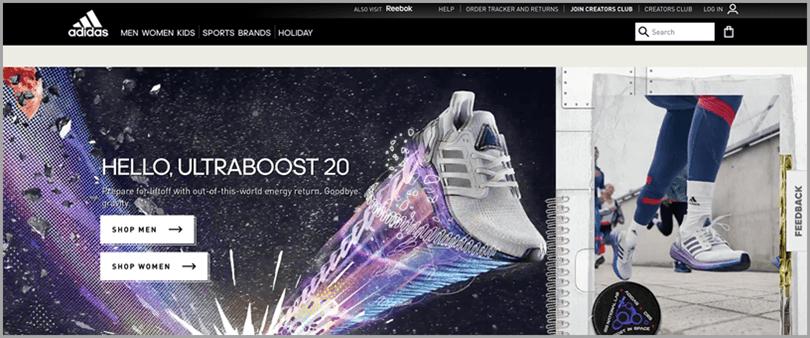 Adidas brand tone for brand identity