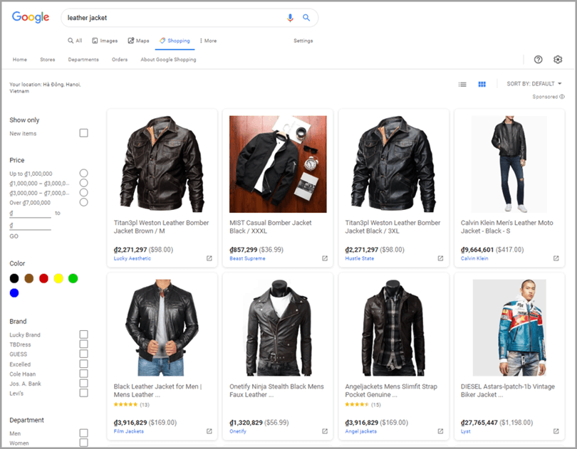Business product promotion for drop shipping business usinf google search