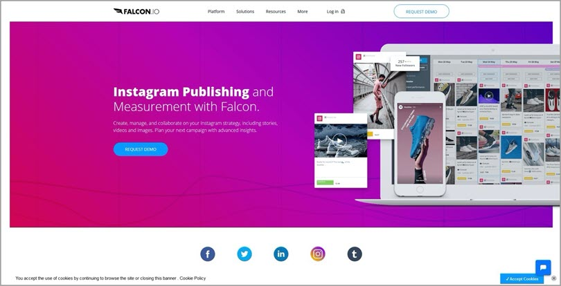 Falcon Instagram publishing and measurement tools for Instagram marketing tips