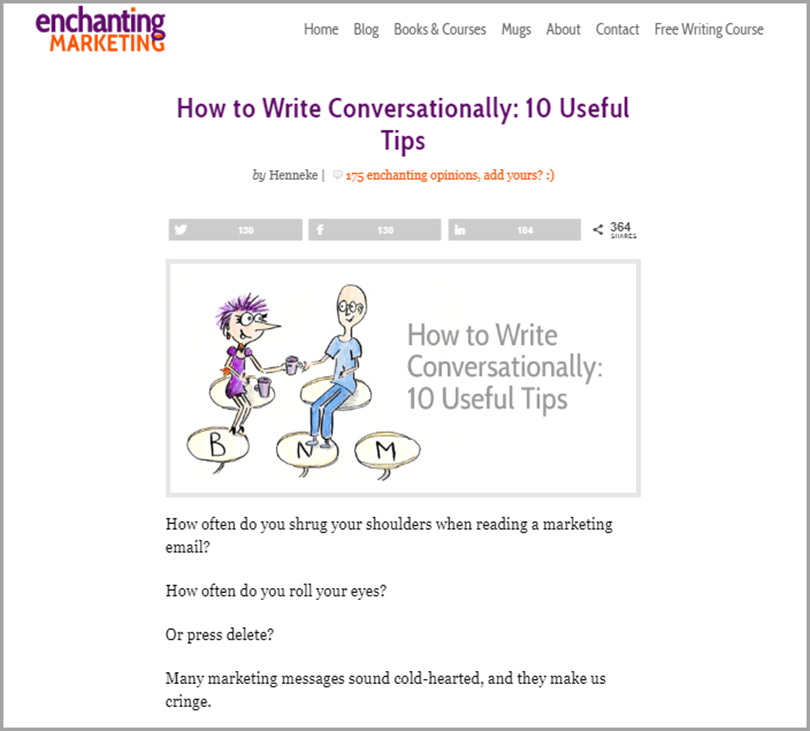 How to Write Conversationally 10 Useful Tips Writing Output