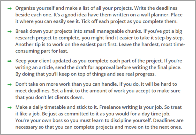 June Whittle's Advice on Having a Deadline Writing Output