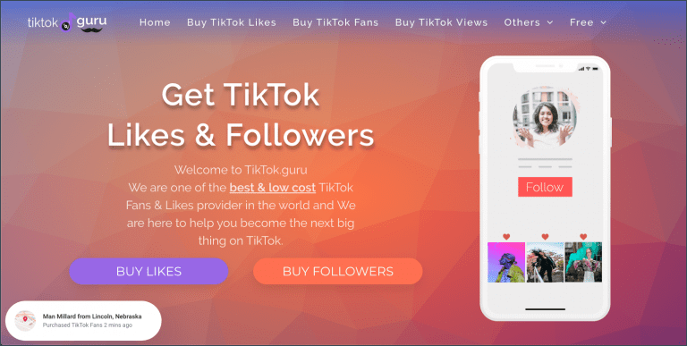 Buy TikTok Followers - TikTok Guru