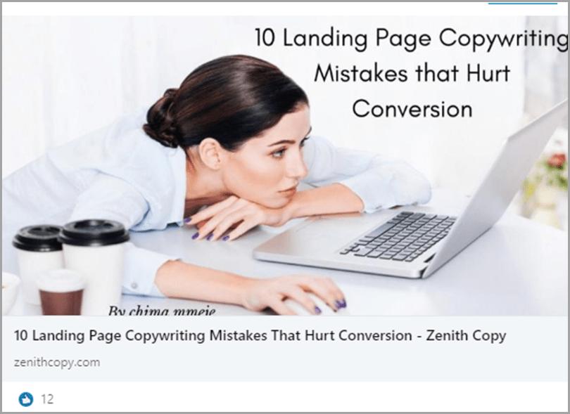 10 landing page copywriting mistake that hurt conversion conversational tone