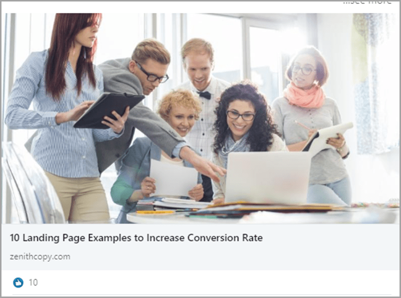 10 landing page examples to increase convertion rate conversational tone