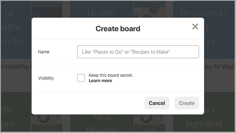 Become a part of a group board to get great pinterest traffic