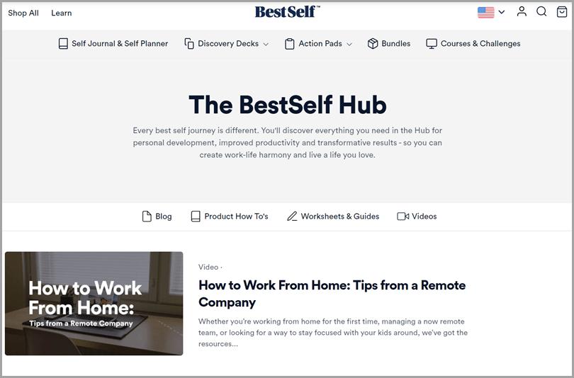 BestSelf eCommerce blog for ecommerce sales funnel