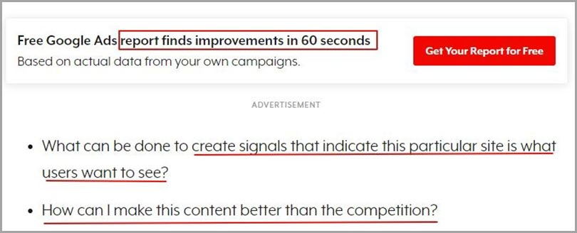 Embed relevant lead magnets in the content for lead generation ideas