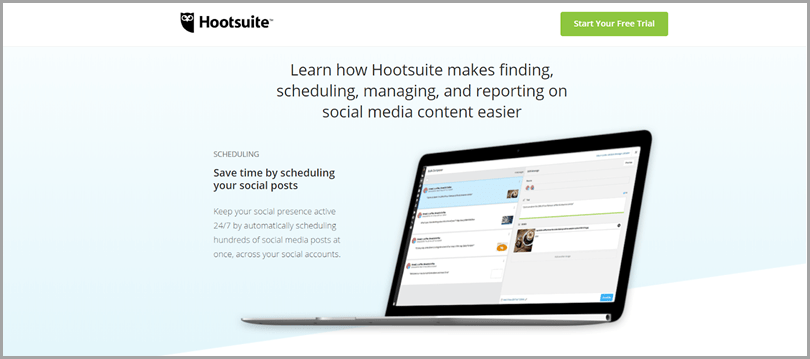 Hootsuite's popular social media tool and Twitter tools