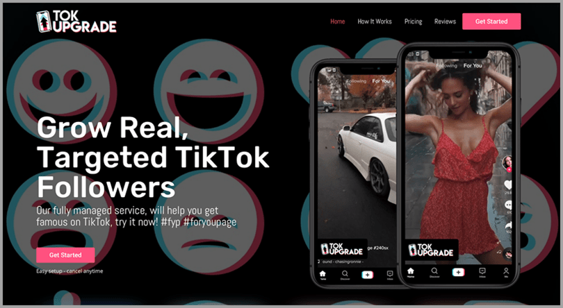 TikTok tool TokUpgrade grow real targeted TikTok followers while ]making money online