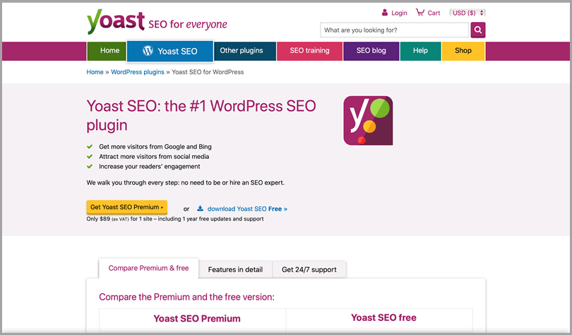 YoastSEO #1 WordPress SEO plugin for everyone seo tools