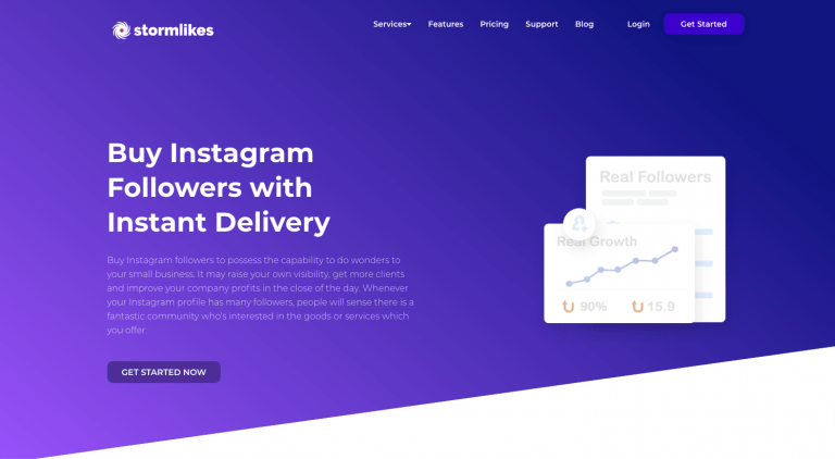 Stormlikes - Buy Instagram Followers