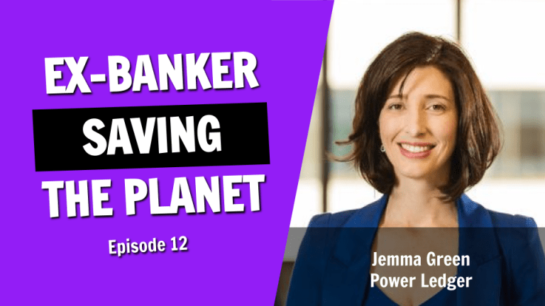 The Ex-Banker Saving the Planet With Blockchain Technology
