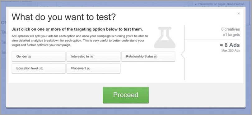 AdEspresso AB Testing Tool to Optimize Ad Campaigns