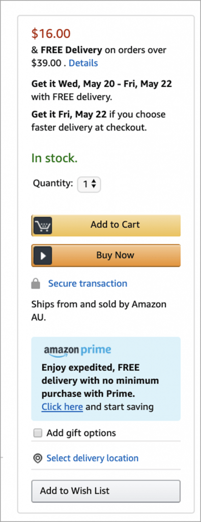 Make Use Of Add To Cart Or Add To Wishlist Icon Upselling Tactics