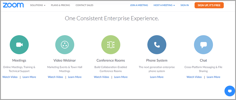 Zoom Video Conferencing Working From Home Tool