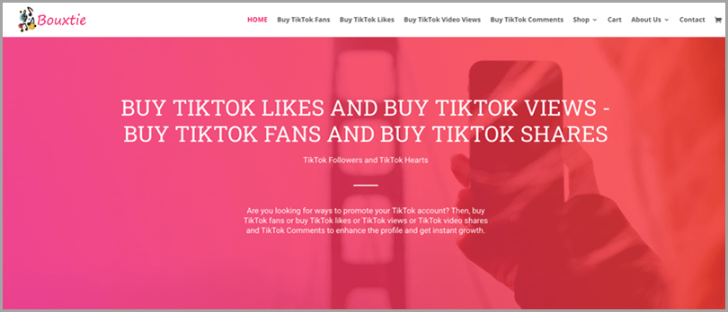 Bouxtie-Buy-Tiktok-Likes-and-Buy-Tiktok-Views