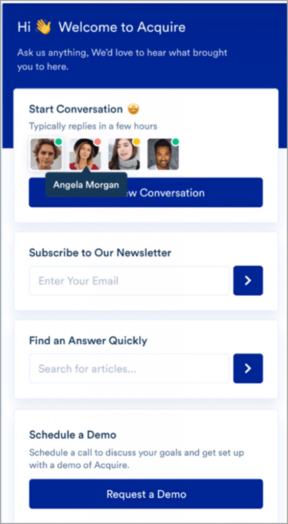 Acquire-All-in-One-Live-Chat-Functionality