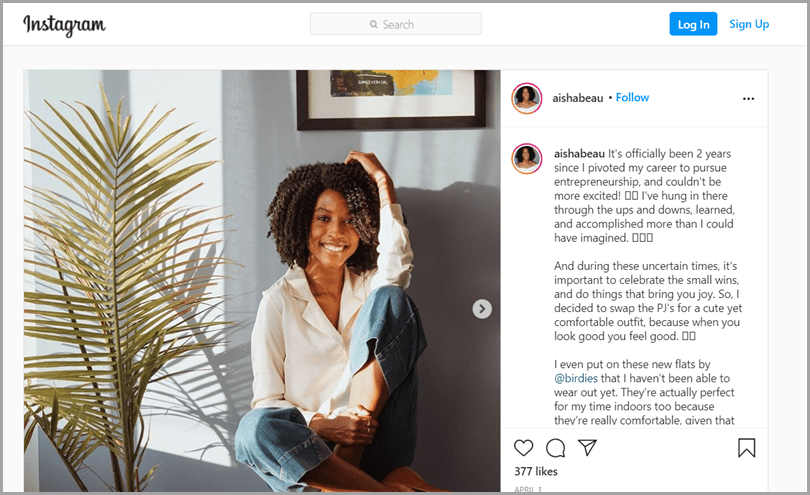 Birdies-Influencer-Focused-Advertising-Campaign-Instagram