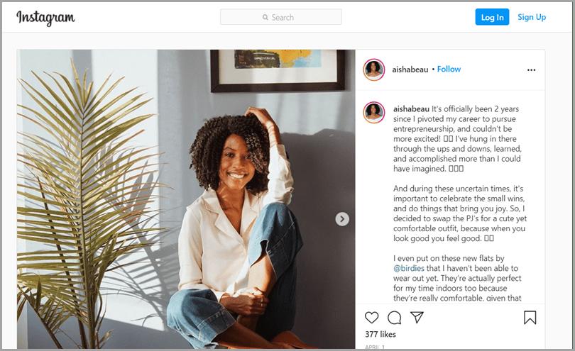 Birdies-Influencer-Focused-Advertising-Campaign-Instagram