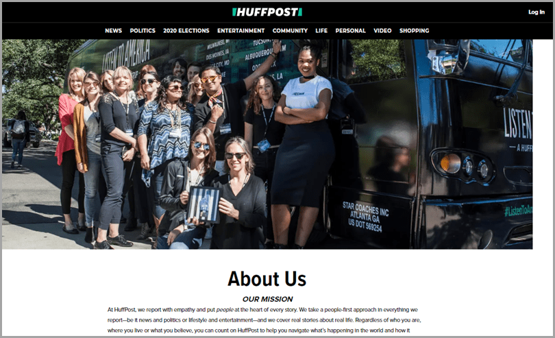 Huffpost-Content-Humanization-Content-Marketing