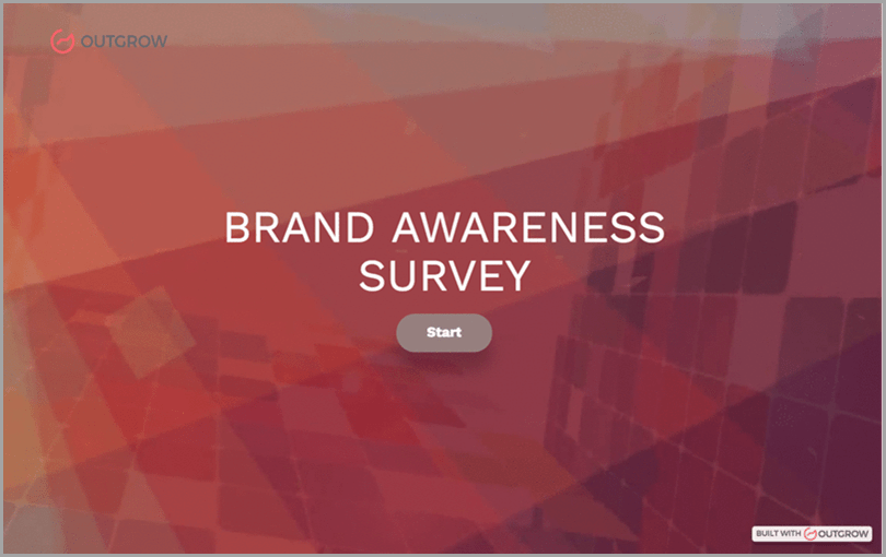 Surveys-and-Polls-OutGrow-Brand-Awareness-Survey-Interactive-Leads